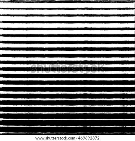 Black stripes background, hand drawn with ink. Abstract grunge illustration. Digital abstract geometric horizontal stripes pattern