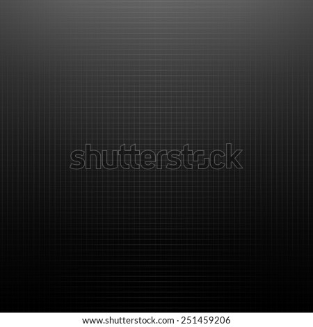 Black Texture With Gradient Mesh, Vector Illustration - stock vector