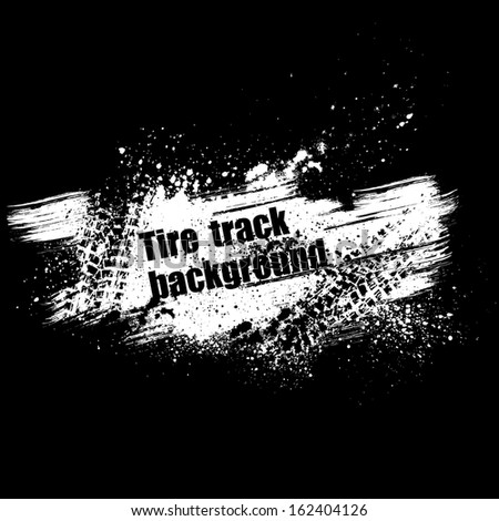 Tire print stock images royalty free images vectors shutterstock - Tire tread wallpaper ...