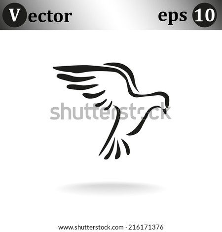 black web icon on white background - stock vector