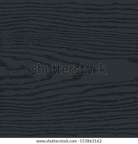 Black wood texture background. Blank natural pattern swatch template. Empty realistic plank with annual years circles. Backdrop size square format. Vector illustration design elements save in 8 eps - stock vector