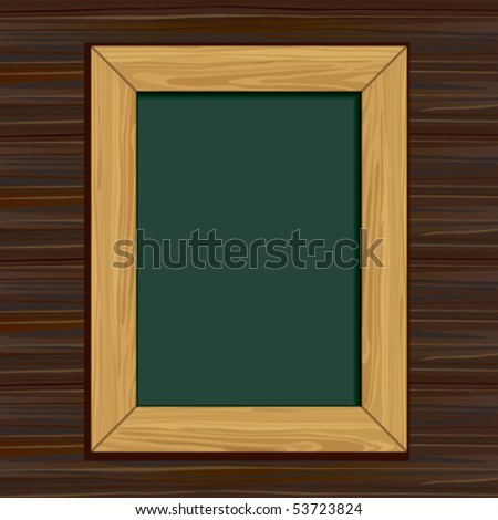 Blackboard - stock vector