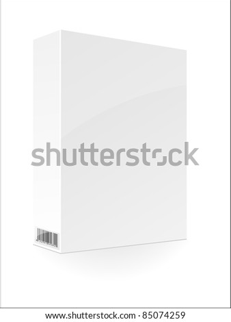 Blank box. Vector. - stock vector