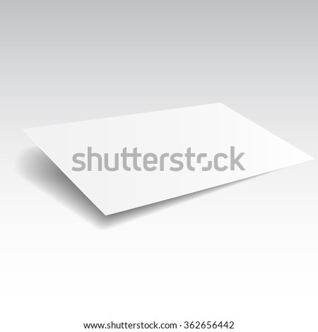 Blank buisness card mockup template. Realistic vector EPS10 illustration.