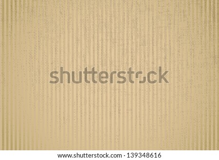 Blank cardboard paper with copyspace - illustration - stock vector