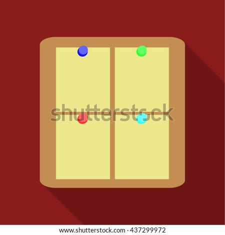 blank checklist form todo list flat stock vector 437299972