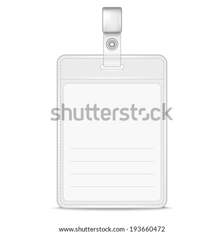 Identification Badge Stock Images, Royalty-Free Images & Vectors