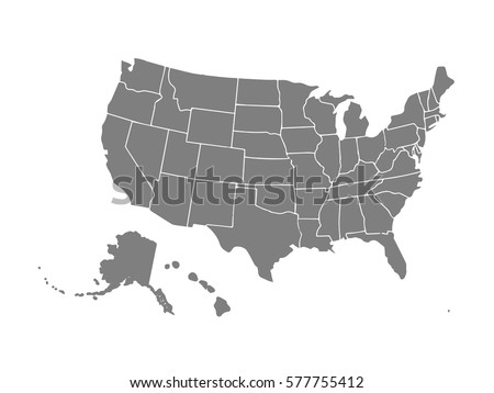 Usa Map Stock Images RoyaltyFree Images Vectors Shutterstock