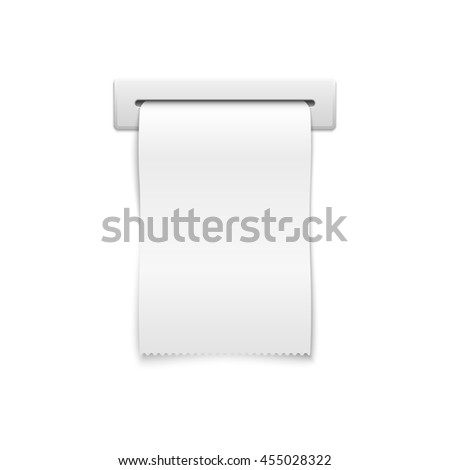 Blank Receipt Stock Photos, Royalty-Free Images & Vectors ...