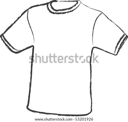 Blank Vector T Shirt Template Your Stock Vector Shutterstock - T shirt artwork template