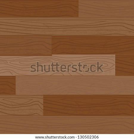 Blank wooden , texture and grain, illustration, EPS10 - stock vector