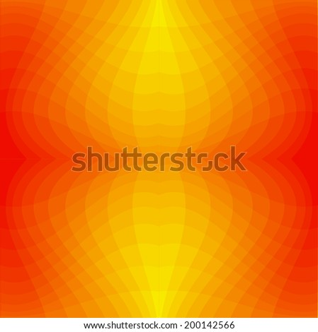 blend vector orange background - stock vector