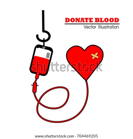 Blood Design Blood Donation Symbol Stock Vector Royalty Free