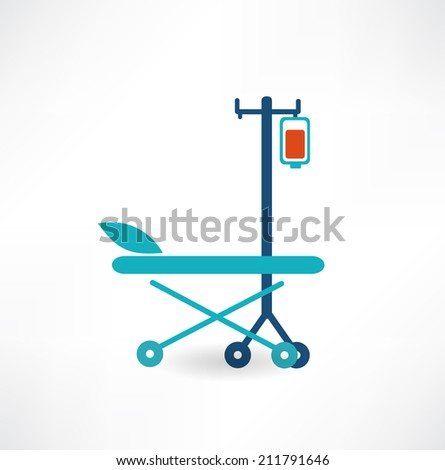 Blood Donation Concept Illustration - stock vector
