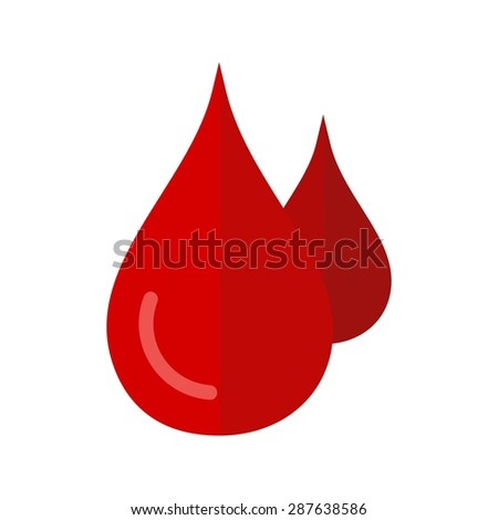 Blood, drops, injury icon vector image. Can also be used for healthcare and medical. Suitable for mobile apps, web apps and print media.