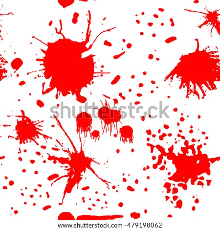 blood pattern vector