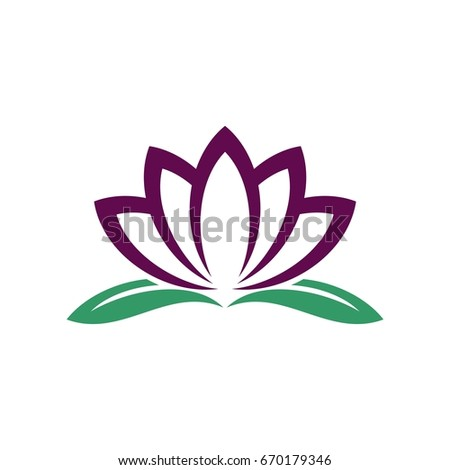 Lotus flower logo template stock vector 528605482 shutterstock blossom lily lotus flower logo template pronofoot35fo Choice Image