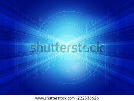 blue abstract background 1