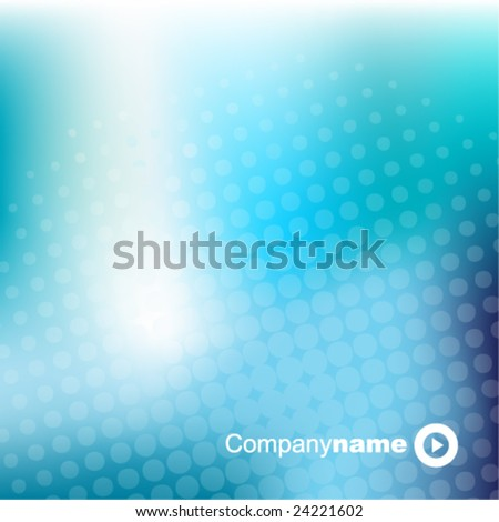 Blue abstract  background - trendy business website  template with copy space Nice artistic texture with blue color meshes and transparent circle shapes