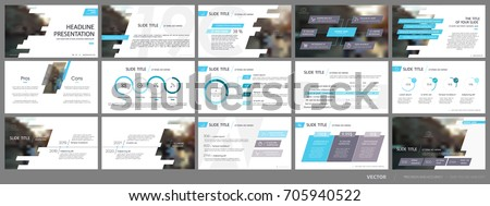 Blue and gray infographics elements on a white background. Vector Presentation templates. Use in presentation, flyer and leaflet, corporate report, marketing, advertising, annual report, banner.