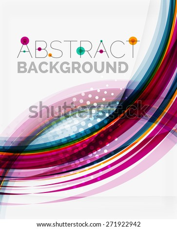Blue and purple color abstract template, modern background