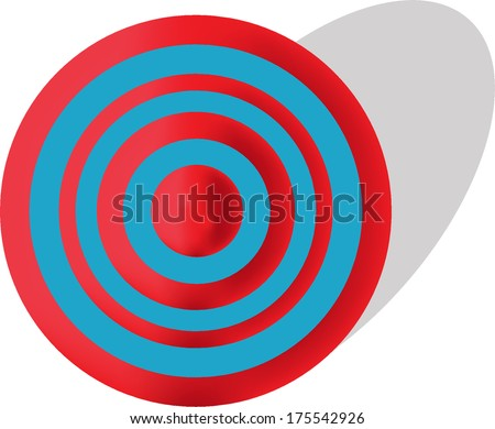 Blue and Red Target