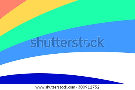 Blue and turquoise background with diagonal stripes. Horizontal minimal backdrop. Can be use for cover catalog, business card or other print. Vector version  - stock vector