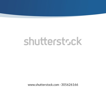 Blue and white professional business presentation background - stock vector