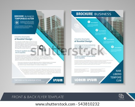 Leaflet Template Stock Images, Royalty-Free Images & Vectors ...