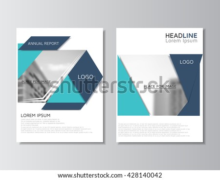 Brochure Design Brochure Template Creative Trifold Stock Vector - Template of a brochure