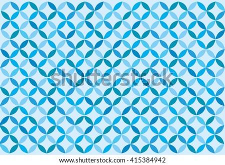 Blue background. Retro. Vector - stock vector