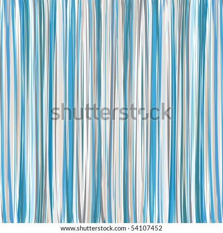 Blue-Beige-White Vertical Striped Pattern Background - stock vector