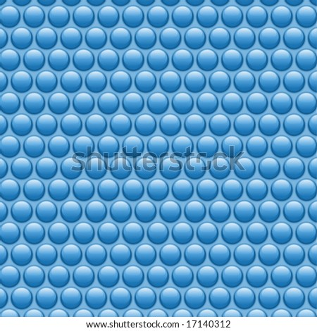 Blue bubble grid background.  Vector illustration.