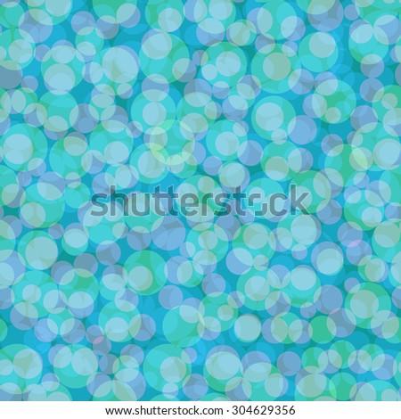 Blue bubble vector seamless. - stock vector