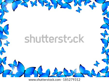 Butterfly Border Stock Images, Royalty-Free Images ...