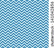 Blue chevrons seamless pattern background retro vintage design - stock vector