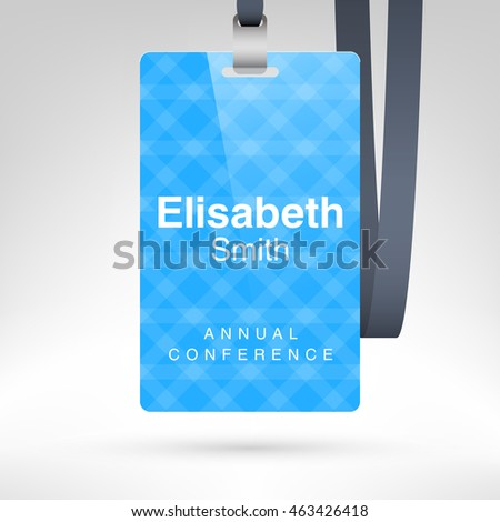 conference badges template