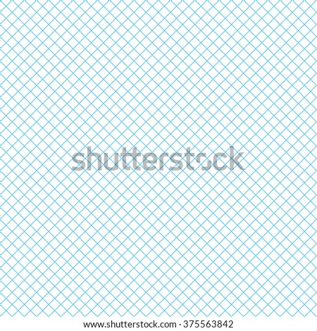 Blue cross lines pattern - stock vector