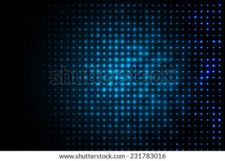blue dark techno background  - stock vector