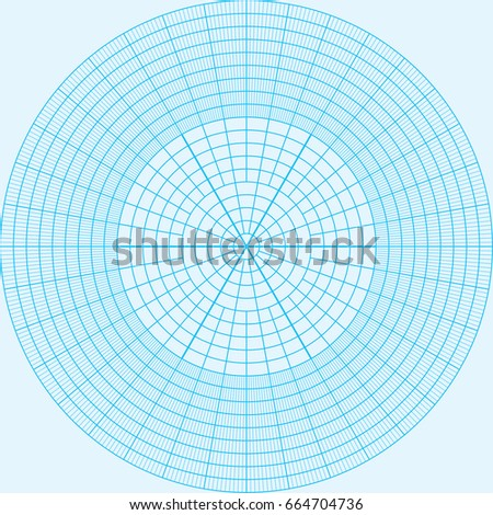 Graph Paper Coordinate Paper Grid Paper Stock Vector