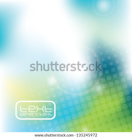 Blue Green abstract background texture - trendy business template with copy space Contemporary texture - stock vector