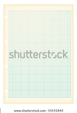 blue grid graph paper ideal maths background with grunge effect