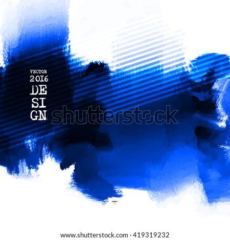 Blue Ink Paint Vector. Blue Ink Paint EPS. Blue Ink Paint Templates. Blue Ink Paint Art. Blue Ink Paint Design. Blue Ink Wallpaper. Blue Ink Paint Background. - stock vector