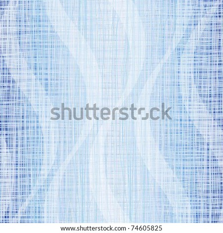 Blue jeans fabric with drawing a wave - stock vector