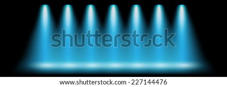 blue lighting vector abstract background unusual illustration