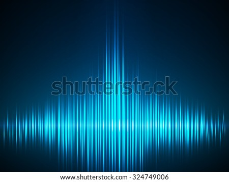 Blue lights abstract vector backgrounds