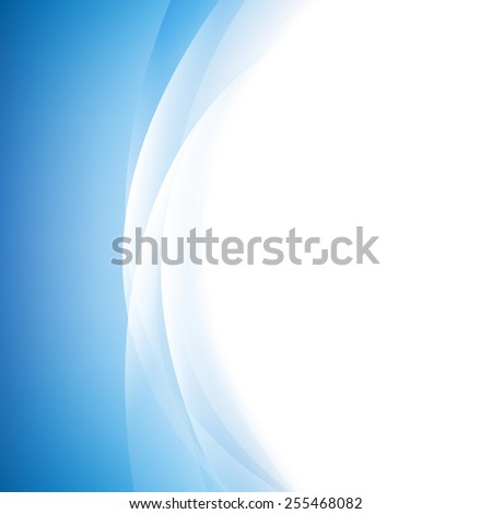 Blue Line Background With Gradient Mesh, Vector Illustration - stock vector