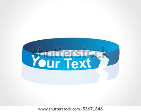 blue ribbon banners and flashes, more banners in portfolio - stock vector
