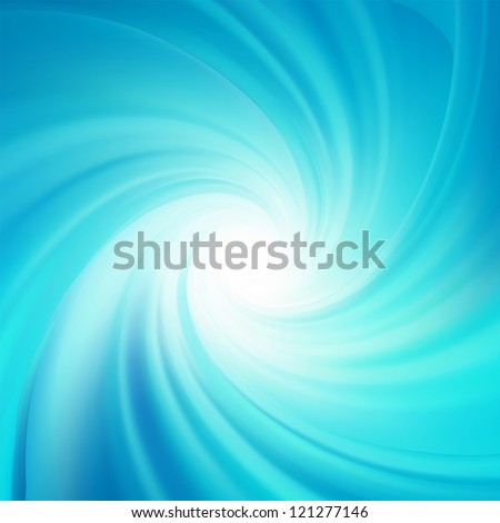 Blue rotation water. EPS 8 vector file included - stock vector