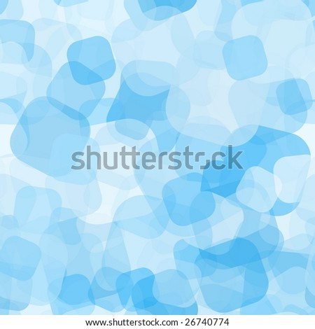 Blue Seamless Pattern - stock vector